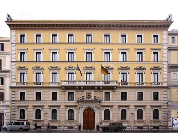 Copertina Ambasciata Tedesca