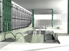 Copertina metro
