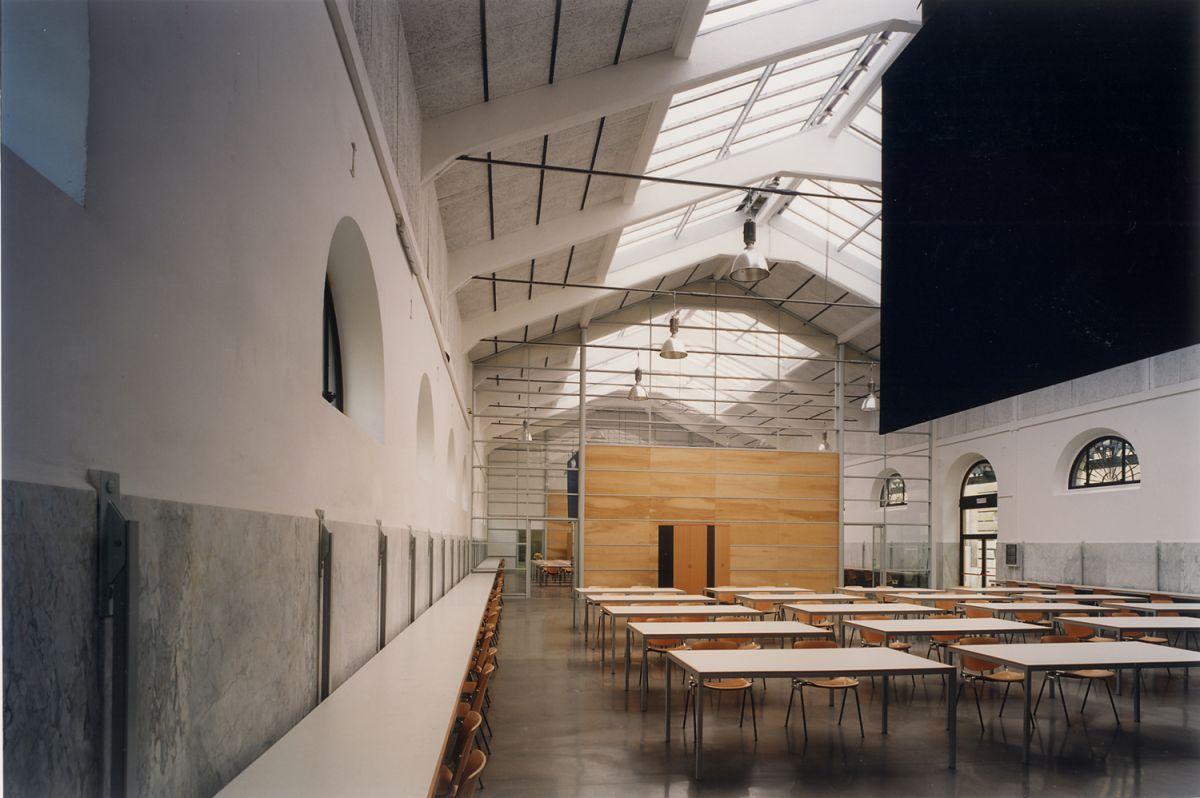 Insula ex mattatoio pad 7 for Studi di architettura roma
