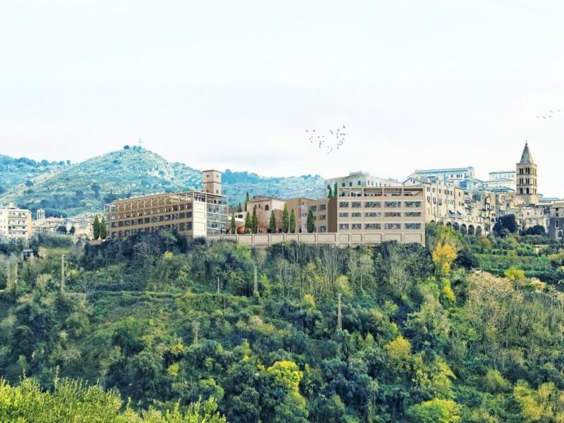 vista da valle